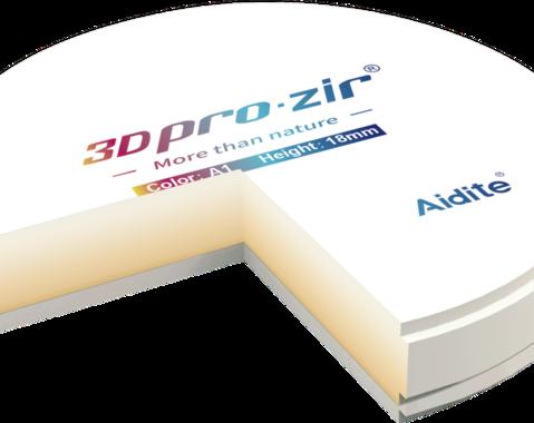 3D pro Zir - Bloc Multilayer 3D